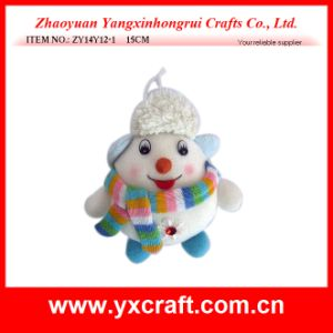 Christmas Decoration (ZY14Y12-1 15CM) Snowman Doll for Christmas Day pictures & photos