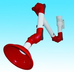 Wall Mounted Fume Suction Arm/ Multiple Joints Laboratory Fume Exhaust PP Arm pictures & photos
