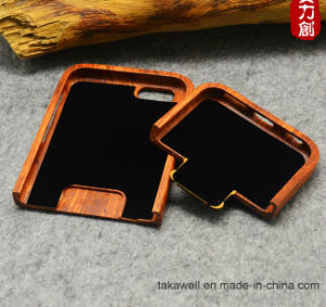 High-End Luxury Laser Engrave Custom Real Wood Cell Phone Case for iPhone 5s/Se/6/6s Mobile Phone Cover Case pictures & photos