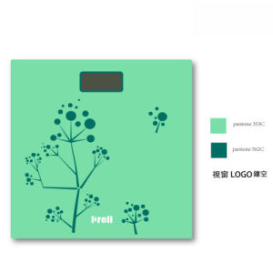 Digital New Slim LCD Display Electronic Weighing Scale with Glass Platform pictures & photos