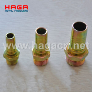 Jic Male Fitting Used with 6 Wire Hose (P16713) Hydraulic Hose Fitting pictures & photos