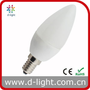 Plastic Candle LED Bulb C35 Cheap Price 2.6W E14 pictures & photos