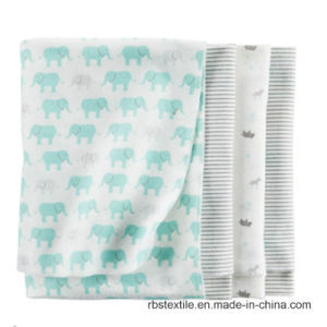 Promotional Cotton Baby Receiving Blanket Sleeping Nursing Blanket pictures & photos