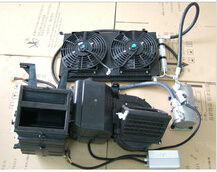 12V, 24V, 48V, 60V, 72V, 96V, 144V, 220V, 320V Cooled and Heating Electrical Air Conditioning for EV