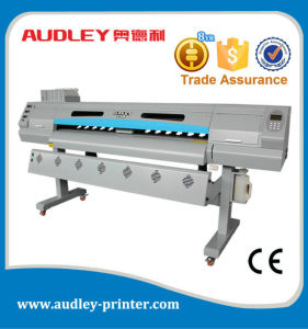 Audley 1.8m Dx5 Eco Solvent Printer with CE, Double & Single Dx5 Head pictures & photos