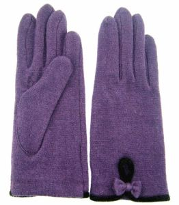 Lady Fashion Wool Gloves (JYG-25037) pictures & photos