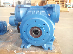 Worm Gear Box, Worm Geared Motor pictures & photos