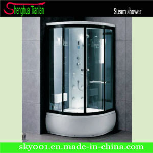 Modular Black Aluminium Alloy Steam Shower Room Cabin (TL-8843) pictures & photos