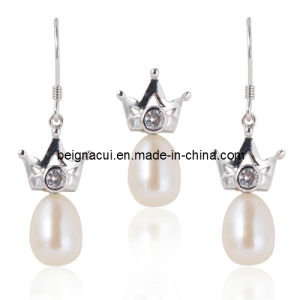Hot-Selling 925 Silver with Fresh Water Pearl Jewelry