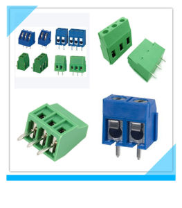 Electrical PCB Screw Terminal Connector pictures & photos