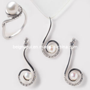 Hot-Selling Silver with Fresh Water Pearl Jewelry pictures & photos