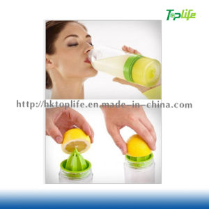 Adult Lemon Juicer Drinking Container Hand-Operated Citrus Zinger
