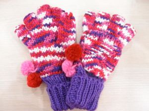 Knitted Glove (TB-6013)