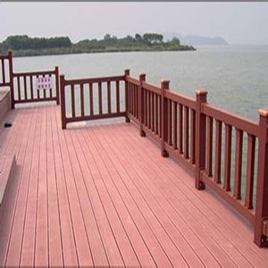 Factory Supply High Performance WPC Outdoor Decking with Low Maintenance