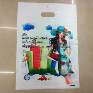 Popular Portable Shopping Plastic Bags pictures & photos
