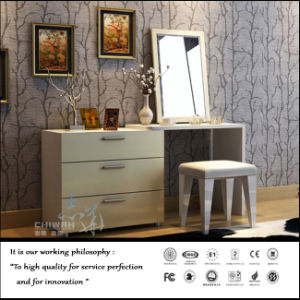 PVC White Colour Cabinet for Living Room Furniture (FY1021) pictures & photos
