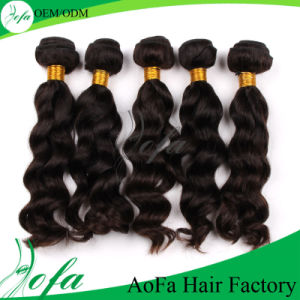 Vrgin Hair Bundle Quality Double Drawn 100% Brazilian Human Hair pictures & photos