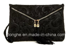 Fashion Embossed Clutch/Crossbody Bag (LY0211) pictures & photos