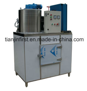 Commercial Rance Flake Ice Machine 1t/24h pictures & photos