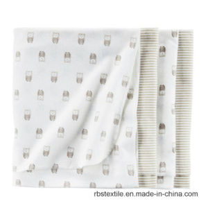 Wholesale Cotton Baby Receiving Blanket Sleeping Nursing Blanket pictures & photos