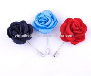 Fashion Unisex Accessories Artificial Fabric Flower Brooch Wedding Corsage Wholesale pictures & photos