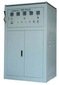 Three-Phase Full-Automatic Compensated Voltage Stabilizer (SBW) 300k pictures & photos