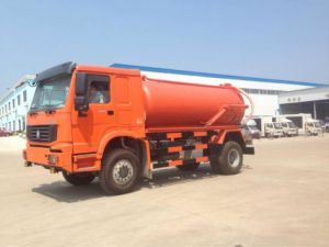 4*2 HOWO Garbage Truck pictures & photos