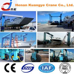50t-500t Boat Handling Rubber Tire Gantry Crane