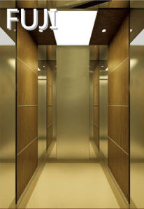 Golden Passenger Lift /Passenger Elevator) pictures & photos