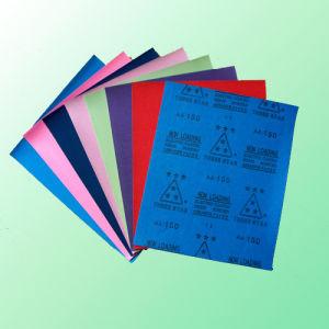 Colour Sand Paper (FPS88) (Quartz) (white alu. oxide) pictures & photos