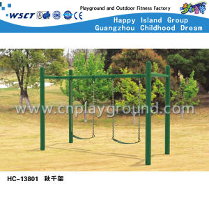 Hot Sale Outdoor Swing Playground Slide Equipment (HC-13802) pictures & photos