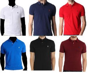 2016 Wholesale Custom Men′s Fashion Tee Shirt Polo pictures & photos