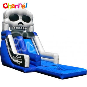 Skeleton Splash Inflatable Water Slide with Pool Bb268 pictures & photos