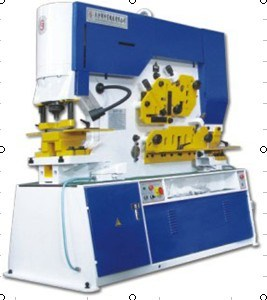Q35y-25 Hydraulc Combined Punching & Shearign Machine with Notch pictures & photos