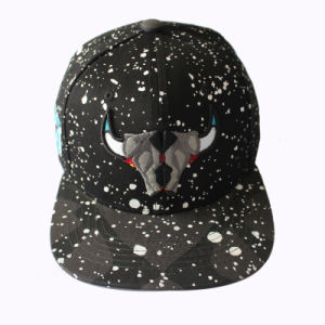 100% Acrylic Printing Snapback Cap with Dots (GKA15-F00035) pictures & photos