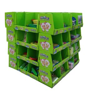 Professional Corrugated Display Stand, PDQ, Supper Save pictures & photos