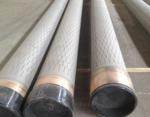 Stainless Sreel 304/316 Laser Slotted Casing Pipe for Water Well/Oil Well pictures & photos