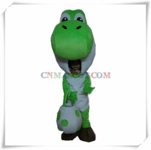 Interesting Infancy Dinosaur Mascot with It′s Egg