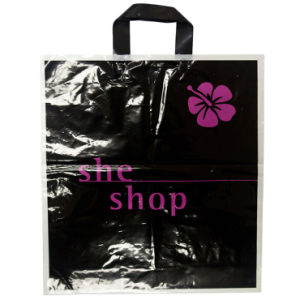 High Quality Printed Loop Handle Bags for Cosmetics (FLL-8382) pictures & photos