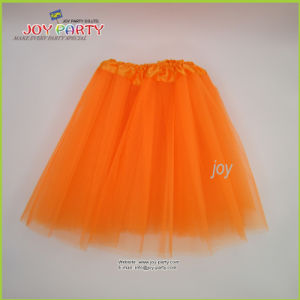 Orange Party Skirt Lady Dancerwear pictures & photos