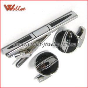 Energy Steel Cufflink Set (XKTZ-0027)