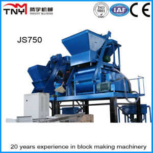 Twin Shaft Concrete Mixer 750L (JS750) pictures & photos