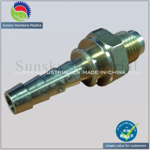 CNC Machining Connector for Hydraulic Oil Connector (ST13011) pictures & photos