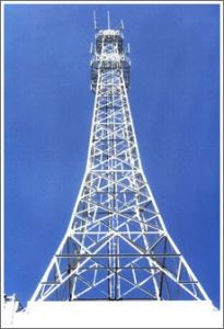 Galvanized and Painting Easy-Installation Steel Tower pictures & photos