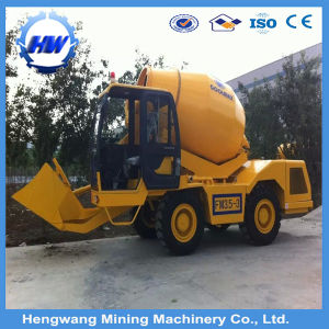 3.5m3 Self Loading Concrete Mixer Truck Price pictures & photos