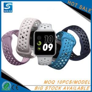 Hot Sale Sport Silicone Watch Strap Band for Apple Watch pictures & photos