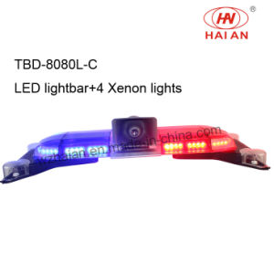 with Speaker Xenon Light LED Police Car Light Bar (TBD-GA-8080L-C) pictures & photos