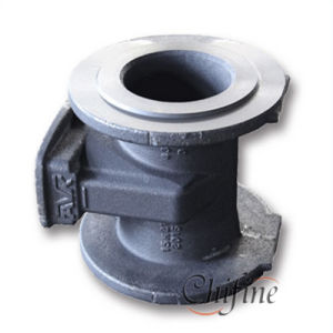 Sand Casting Iron Valve Body with Sand Blasting pictures & photos