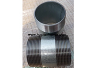 "Galvanized Barrel Nipple /Pipe Nipple Sch40 NPT 21/2"" X10"""