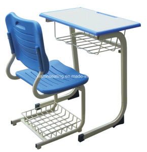 Primary Elementary Grade High School Student Chair and Desk (7506) pictures & photos